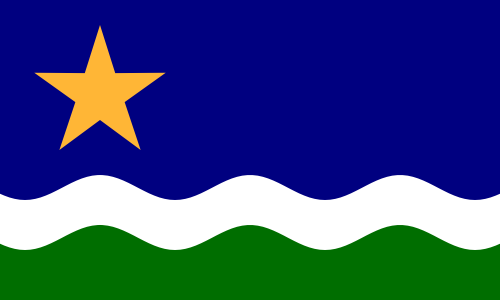 "1989 ""North Star"" Flag"